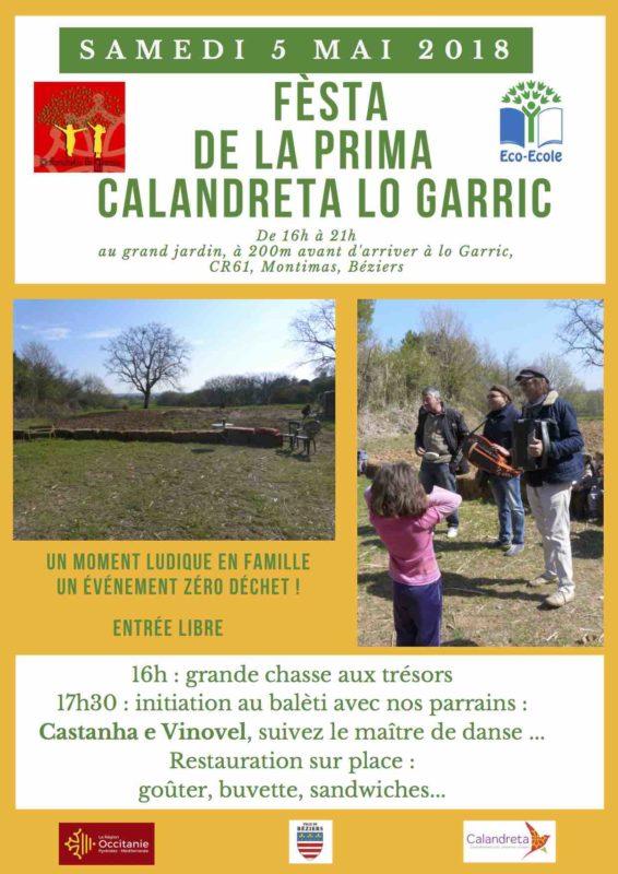 Balèti pour enfants Castanha é Vinovèl Calandreta lo Garric Béziers