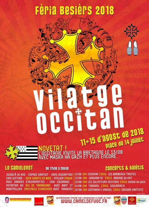 Béziers Féria Vilatge Occitan