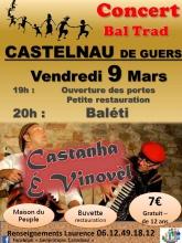 Baleti Castelnau de guers 9 mars 2018