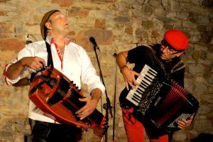 Castanha & Vinovel en concert, image HD pour la presse