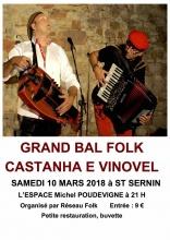 Bal Folk St Sernin 10 mars 2018