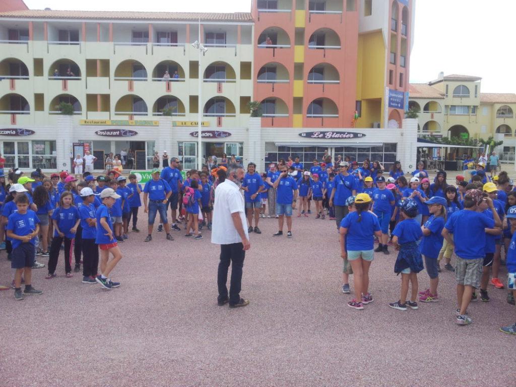Balèti enfant Castanha é Vinovèl à Port Leucate