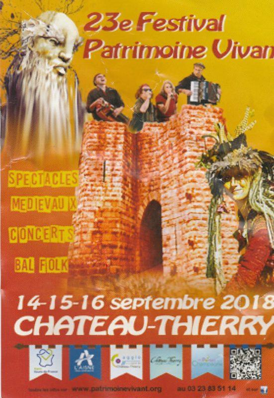 Festival Patrimoine vivant de Château-Thierry avec Castanha é Vinovèl