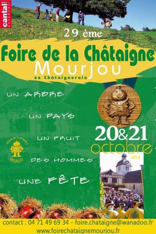 Foire des Chataignes à Mourjou