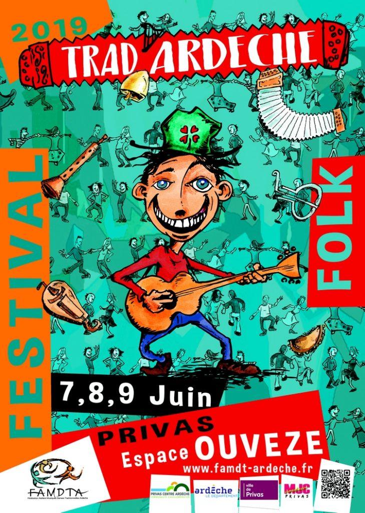 Festival Trad Ardèche Balèti Avec Castanha é Vinovèl