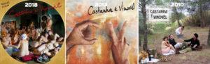 Les disques de Castahna e Vinovel