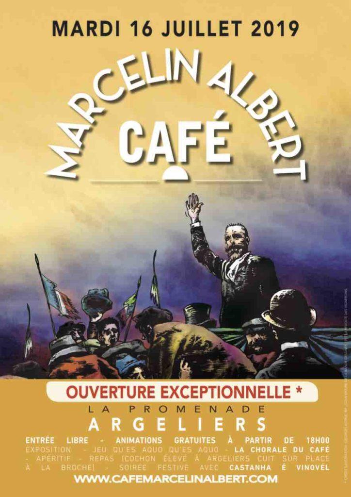 Fête au Café Marcelin Albert 11120 Argeliers